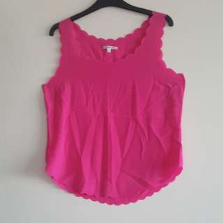 Pink valleygirl top