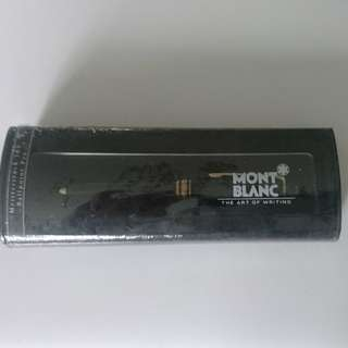 90年代 montblanc meisterstuck 164 (gold)ballpoint pen