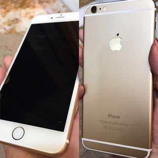 I phone 6 plus 128 Gb gold color 一口價如新