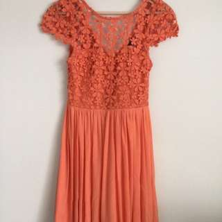 Crotchet dress (stained)