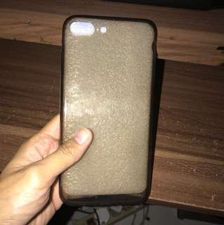 iphone softcase black 7+