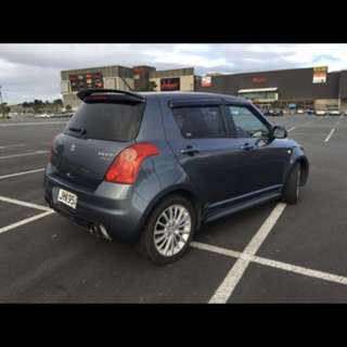 Suzuki swift sports 5spd manual