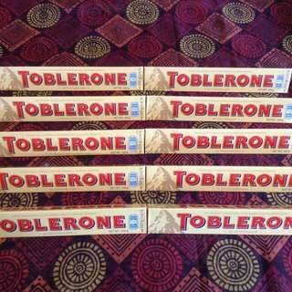 Chocolate Toblerone Super Sale