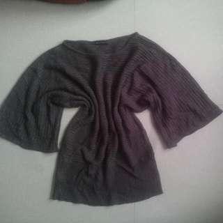 semi knitted dress