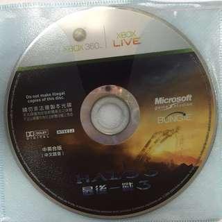 【二手遊戲】XBOX360 最後一戰3 HALO3 (中英合版)