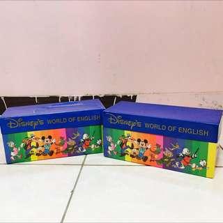 🚚 World Of English Basic/ 英文字母卡片兩盒