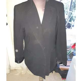 Katies Black Blazer Size 16
