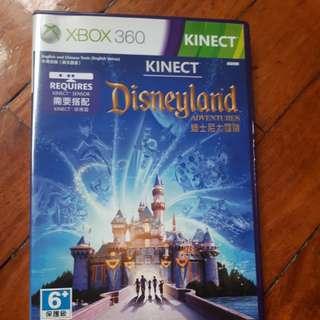 Xbox360 kinect disneyland adventures game