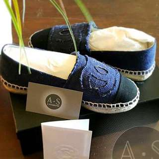 CHANEL ESPADRILLES (authentic with receipt)
