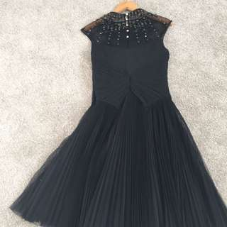 Ted Baker couture black dress