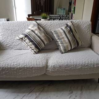 2 and half seater fabric sofa