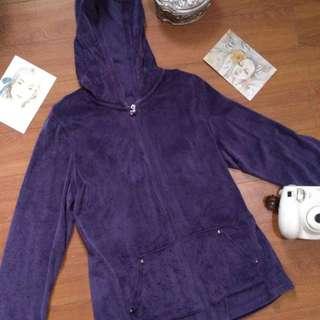 Violet Velvet Hoodie