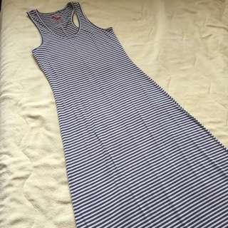 Sleeveless long maxi dress