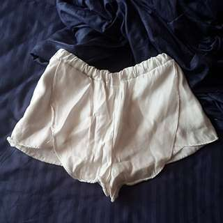 Shiny/Shimmery Satin  Looking Causal Shorts