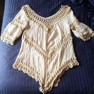 Crochet/Knit Beach wear  Top