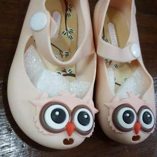 Mini Melissa Inspired Shoes (Owl)