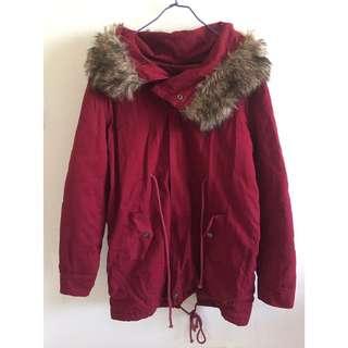 鋪棉保暖外套