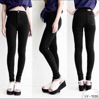 NEW! HW Jeans Black / High Waist Highwaist