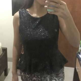 Atasan sequin / blouse sequin