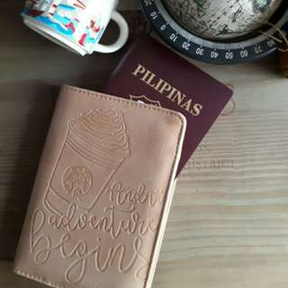 Starbuck (Singapore) Beige Passport Holder