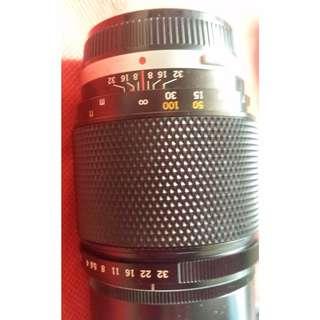 OLYMPUS E ZUIKO AUTO-T OM System  f/4.0 200mm Lens 送濾鏡