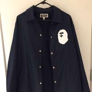 BAPE coach jacket