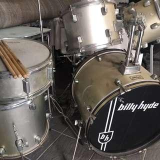 Billy Hyde Drum Set