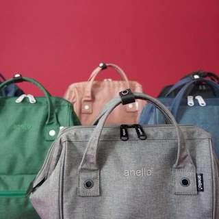 Anello Embroidered 2 Way Backpack