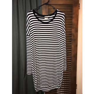 Long sleeve Tshirt dress