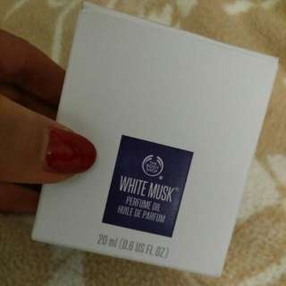 Body Shop White Musk Perfume Oil