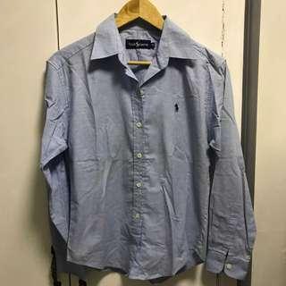 Long sleeves light blue