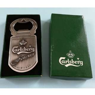 Vintage Carlsberg Bottle Opener (150 Years Celebration)