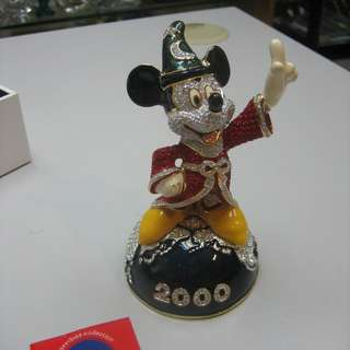 Swarovski crystal Millennium Mickey Sorcerer -Arribas Collection