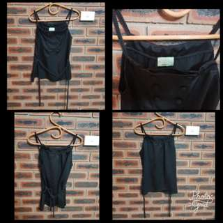REVIEW BLACK SUMMER TOP SIZE 10