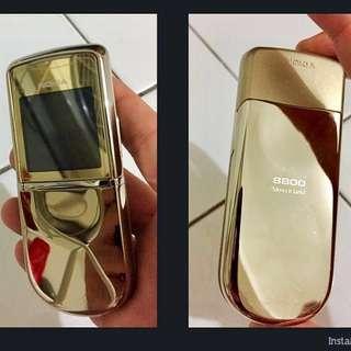 NOKIA 8800 Sirocco GOLD edition ( khusus pejabat )
