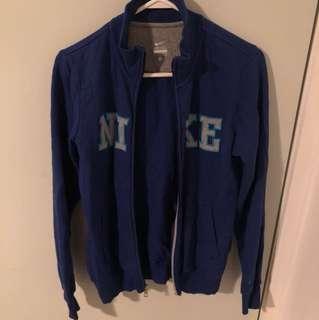 Nike zip up fleece jacket