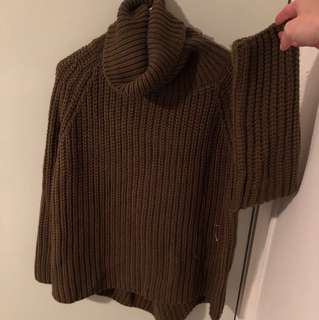 Extremely thick knit