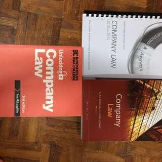 Company Law Core Text Books