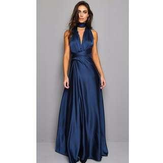 REDUCED BNWT Navy infinity formal dress