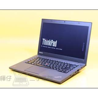 ✨樺仔二手電腦✨LENOVO T440 I7四代CPU / 256G SSD 14吋輕薄商務筆電 Ultrabook #士林板橋南港有門市