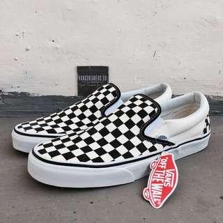 Vans Slip-On Checkerboard Black/White (Original 100%)
