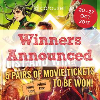 List to Win Movie Tickets