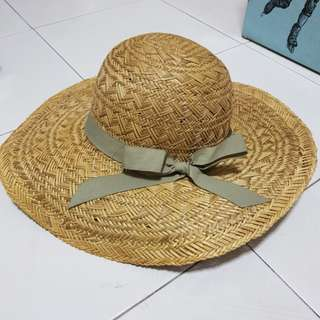 Straw Hat beach hat