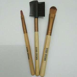Lip Brush, Concealer Brush, Brows Brush