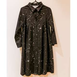 the white pepper constellations dress