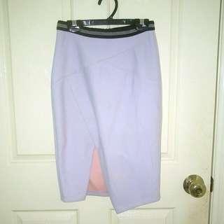 Sheike purple skirt size 6