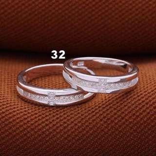 Couple Ring, 925 Italy Silver