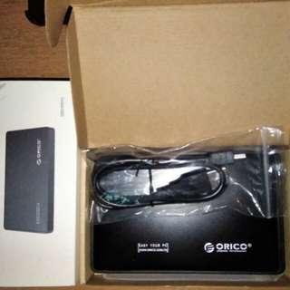"""(天水圍)ORICO 2588US 2.5"""" USB2.0 硬碟盒"""
