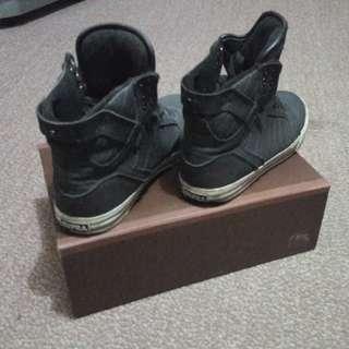 Supra Vader Black Size 9 US
