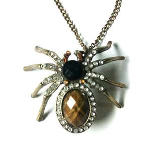 Spider Necklace